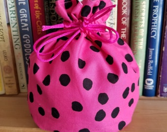 My Pretty Dice Bag - Pink With Spots Edition