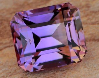 10.00 Carat Bolivian Ametrine Gemstone Precision Cut Gem