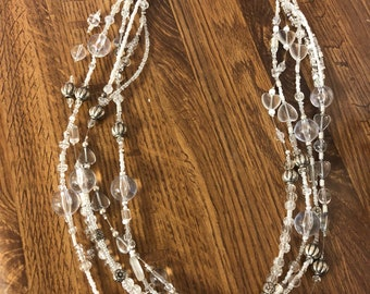 The white goddess long long super long necklace, longer than this description, even. For rocking awesome customer.