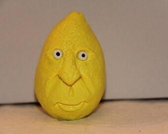 Lemon with Sour Face