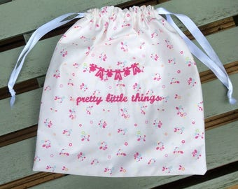 Lingerie Bag : Pretty in Pink