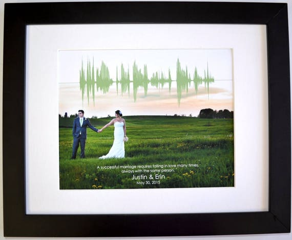 Personalised 1st Wedding Anniversary Gifts: 1st Anniversary Gift For Men Personalized Wedding Photo First