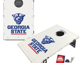 Georgia State University Panthers Baggo Cornhole Game Designs