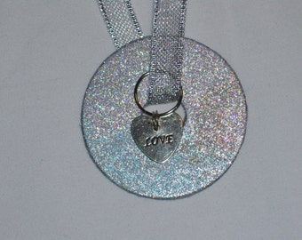 Love Washer Necklace