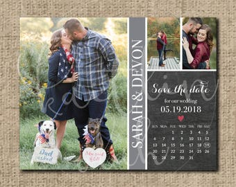Custom Wedding Save the Date Artwork