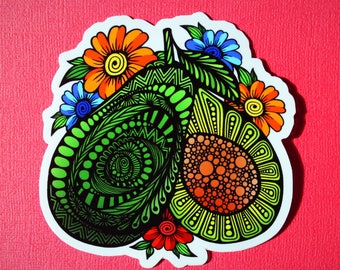 Avacado Sticker