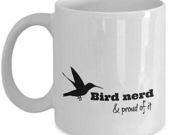 Bird Nerd And Proud   for Bird Watcher   Bird Watching Gift Mug   For Birdwatcher   Birdwatching Gift   Birding Gift   For Birder