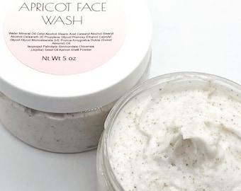 Apricot creamy face wash