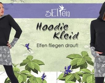 Hoodie Dress Winter Magic