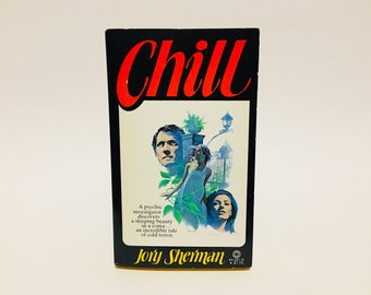 Vintage Horror Book Chill by Jory Sherman 1978 Paperback