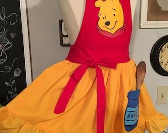 Winnie the Pooh / Girl Apron
