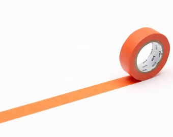 MT washi tape, carrot, 15 mm