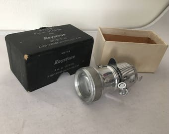 No. V-8 8 m.m. Viewer For Keystone Projectors k-109 Viewer In Original Box