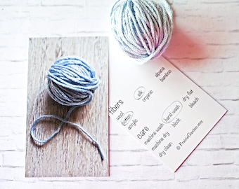 knitting gift card, set, gift card, gift tags, knitting gift tags, Hand Made for you, crochet gift tags, fiber care tags