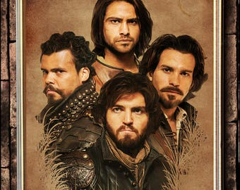The Musketeers portrait