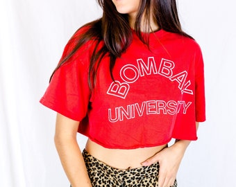 Bombay Vintage Cropped Tee