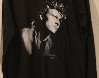 MINT Jack Wagner Shirt 1986 Lighting Up the Night Concert Tour Vintage Large New NEVER USED
