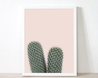 Decor de cactus, Cactus imprimable, Cactus impression, tirages d'Art mural, succulentes, cactus, désert photographie, téléchargement numérique, ec2c