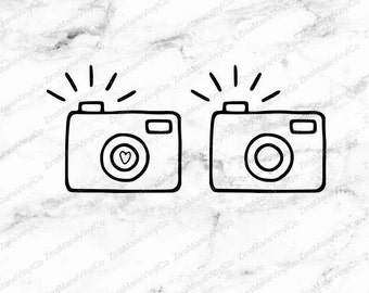 Camera Decal - Camera Car Decal