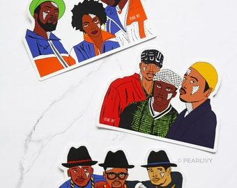 Hip Hop Sticker Pack 3