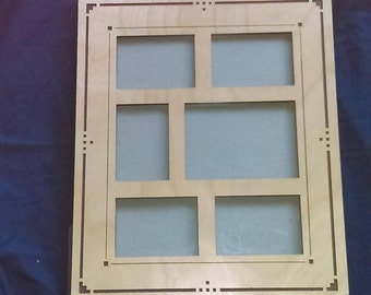 MULTI PICTURE FRAME: Solid Wooden Frame
