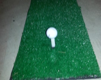 Golfing Practice driving chipping mat