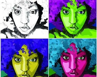 Art print - Colors. Colors. Colors.