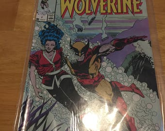 Vintage Marvel Comics Presents Wolverine #7 (1988) Rare Vintage Comic Book