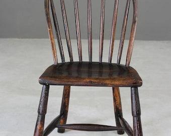 Rustic Elm Hoop & Stick Chair