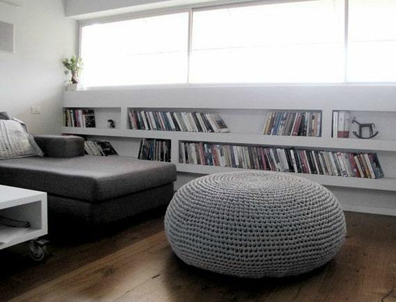Giant Pouf Ottoman Extra Large Floor Cushion Bean Bag Chair