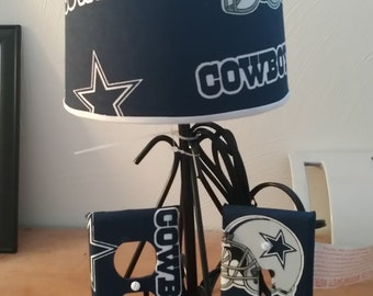 Dallas Cowboys NFL lamp set.