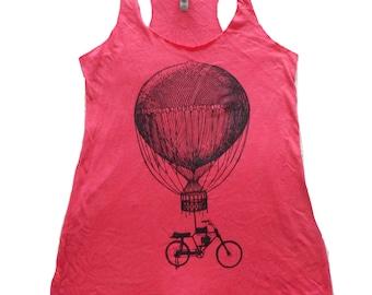 Hot Air Balloon Bicycle Tank Top