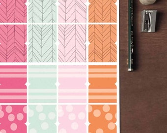 Planner Dividers Printable Planner Stickers Erin Condren ECLP Happy Planner Instant Digital Download