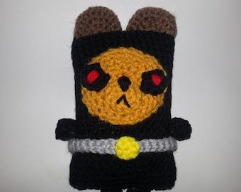 "Triple Town Inspired Crocheted ""Ninja Bear"""