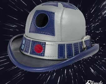 R2D2 Inspired Leather Derby