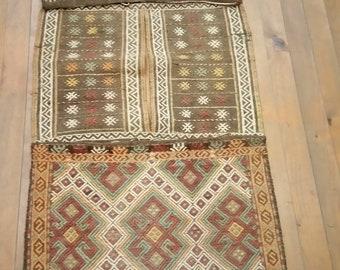 Etsy's 13th Birthday Sales Anatolian kilim saddlebag 145*0,52 cm