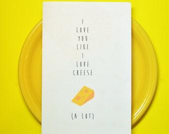 Printable Funny Valentine Love Card