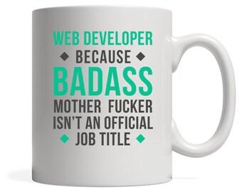 Web Developer Mug, Gift for Web Developer, Birthday Present, Christmas Gift,11oz or 15oz white mug, Custom Mug