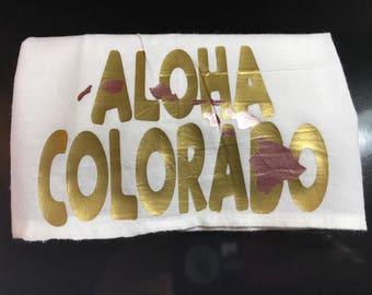 Aloha Colorado Tea Towel
