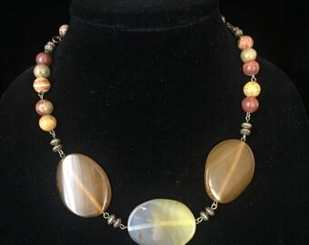 Amber-Brown- Golden- Stone