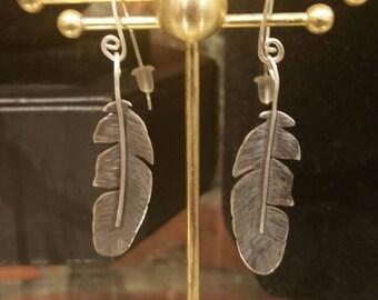 American Eagle Feather Earrings