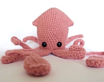 Squid - Crochet Pattern