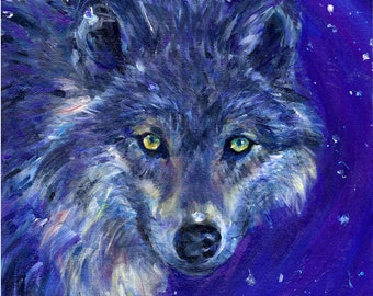Wolf Whispers - A3 Giclee Print