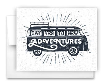 New Adventures Notecard