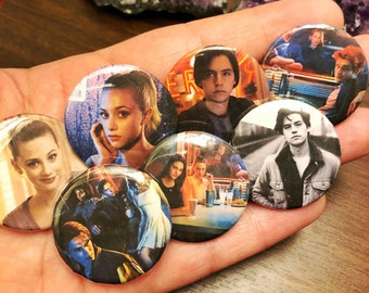 Riverdale Buttons - 1.5inch