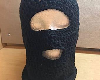Mask On Ski Mask