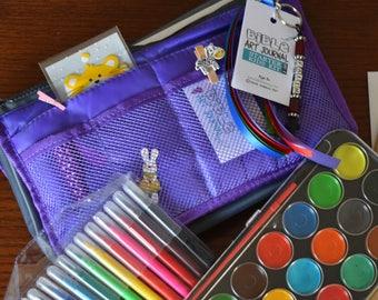 2 Go Kids Aged 8+ Starter Bible Art Journaling Kit