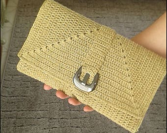 Handmade Crochet Clutch bag
