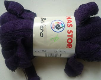 1 ball effects-frou frou purple wool