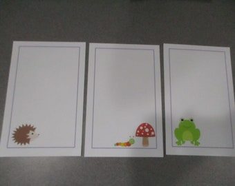 Forest Friends Stationery Set 1
